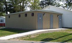 Precast Concrete Restroom Building