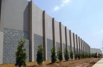 Sound Wall at Gaylord