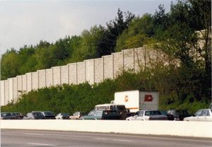 Highway Sound Wall