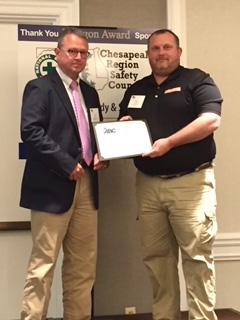 Smith Midland ABC safety award copy