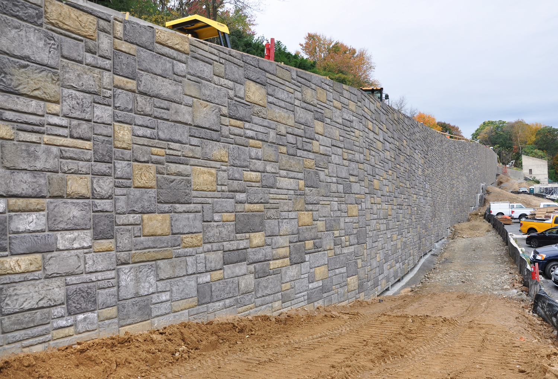 Smith Midland Smithsonian National Zoo retaing wall