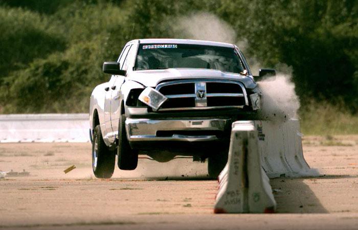 J J hooks MASH TL3 crash test Easi Set