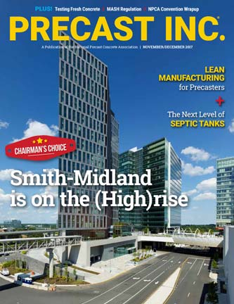 Precast Inc Smith Midland Chairman