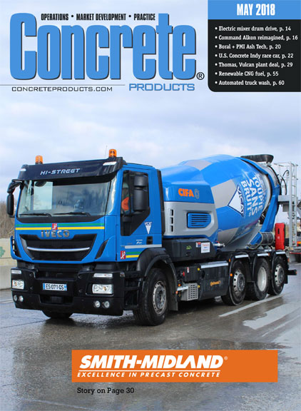 Concrete Products May 2018 Smith Midland