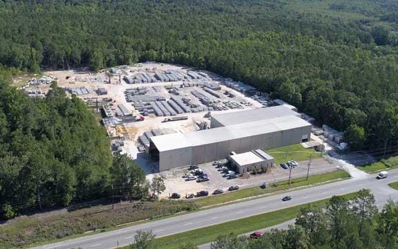Smith Columbia precast concrete plant