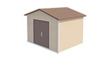 Easi-Span Building Diagram - 10x12 Gabled