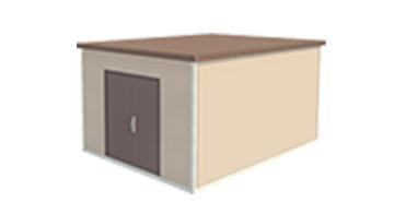 Easi-Span Building Diagram - 12x16 Tapered