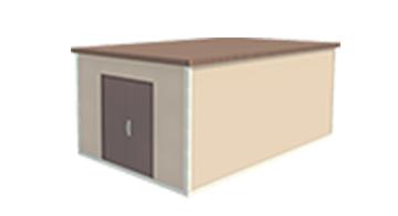 Easi-Span Building Diagram - 12x20 Tapered