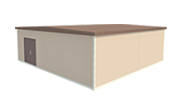 Easi-Span Building Diagram - 30x30