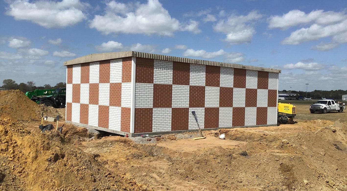 Easi-Set Building Secured Installation