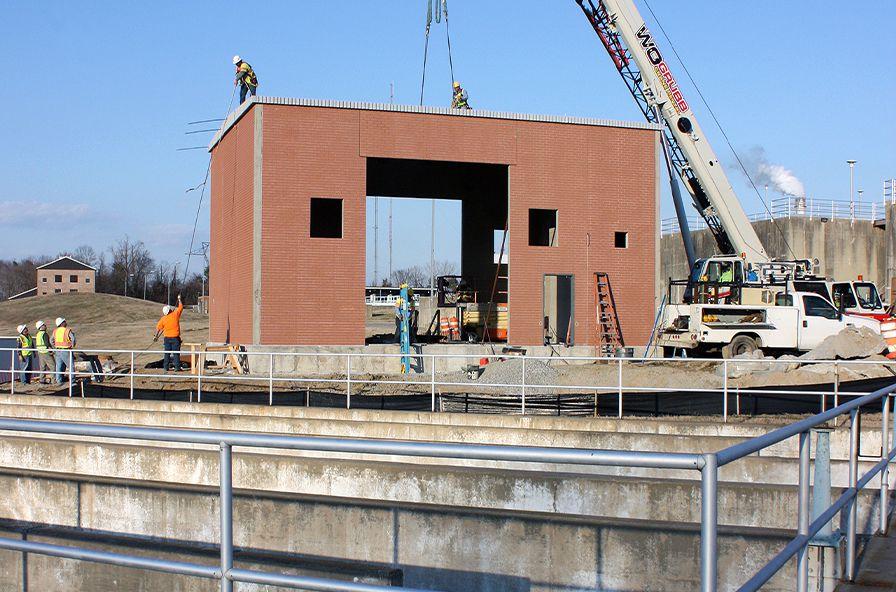 Easi-Set Buildings in Procters Creek being installed