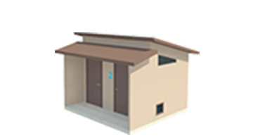 Easi-Set Restroom Diagram - Ridge Wet