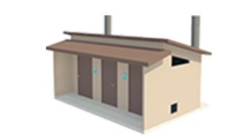 Easi-Set Restroom Diagram - Sierra Dry