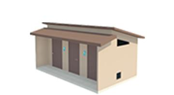 Easi-Set Restroom Diagram - Sierra Wet