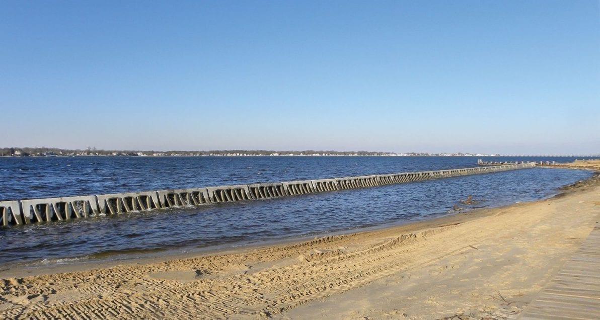 Beach Prisms in use at Ocean Gate, NJ