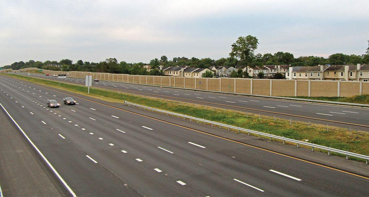 I-66 Sound wall