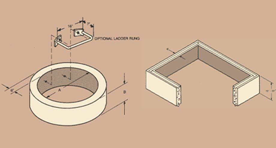 Vault Riser diagram