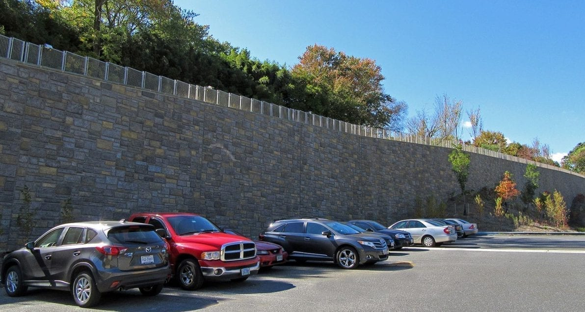 Retaining Wall at the Smithsonian Zoo