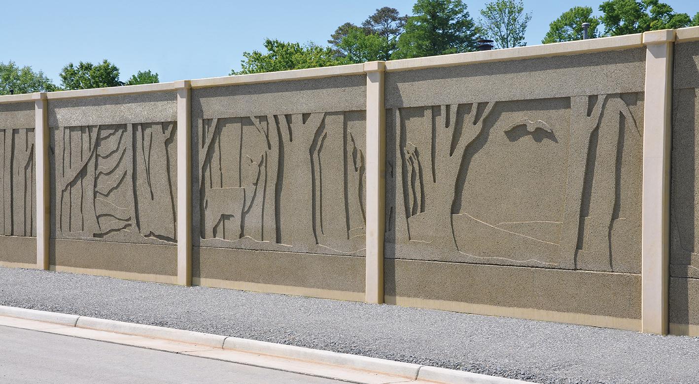 SoftSound Wall at Nimmo Parkway
