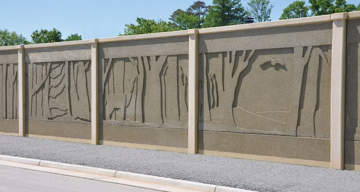 Retaining Wall for Nimmo Parkway in Virginia Beach