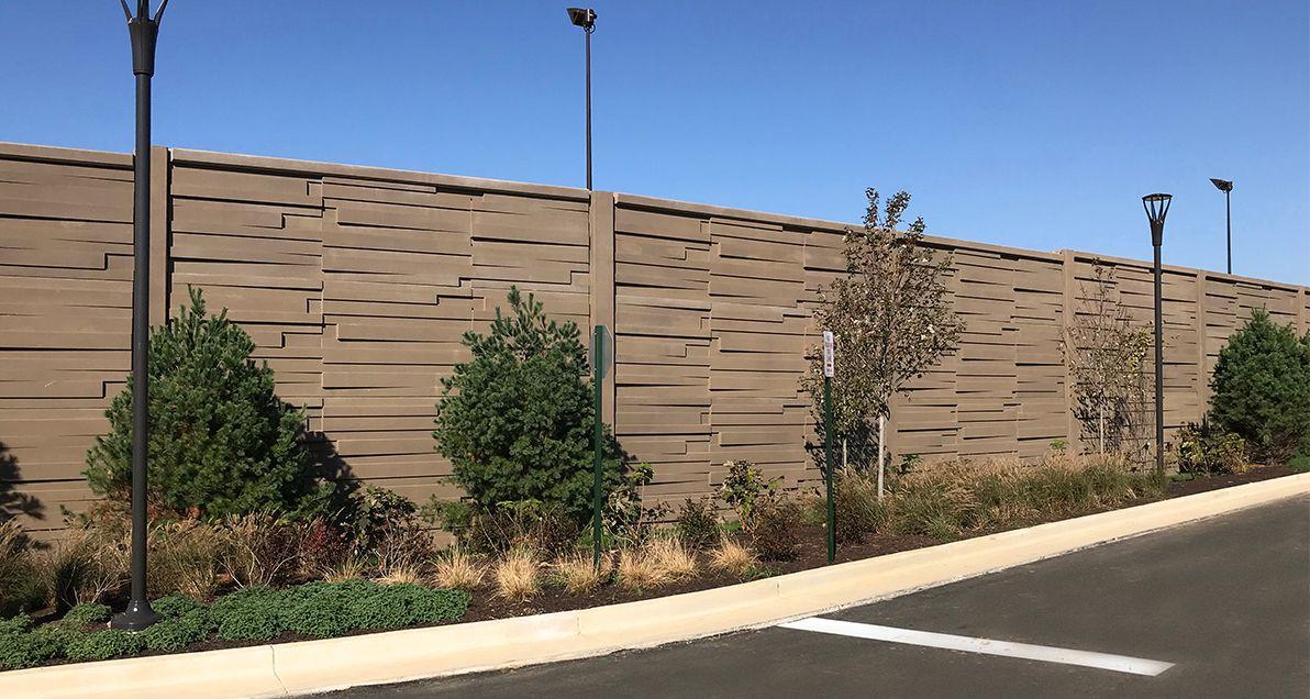 Soundwall on Eisenhower Ave in Alexandria, VA