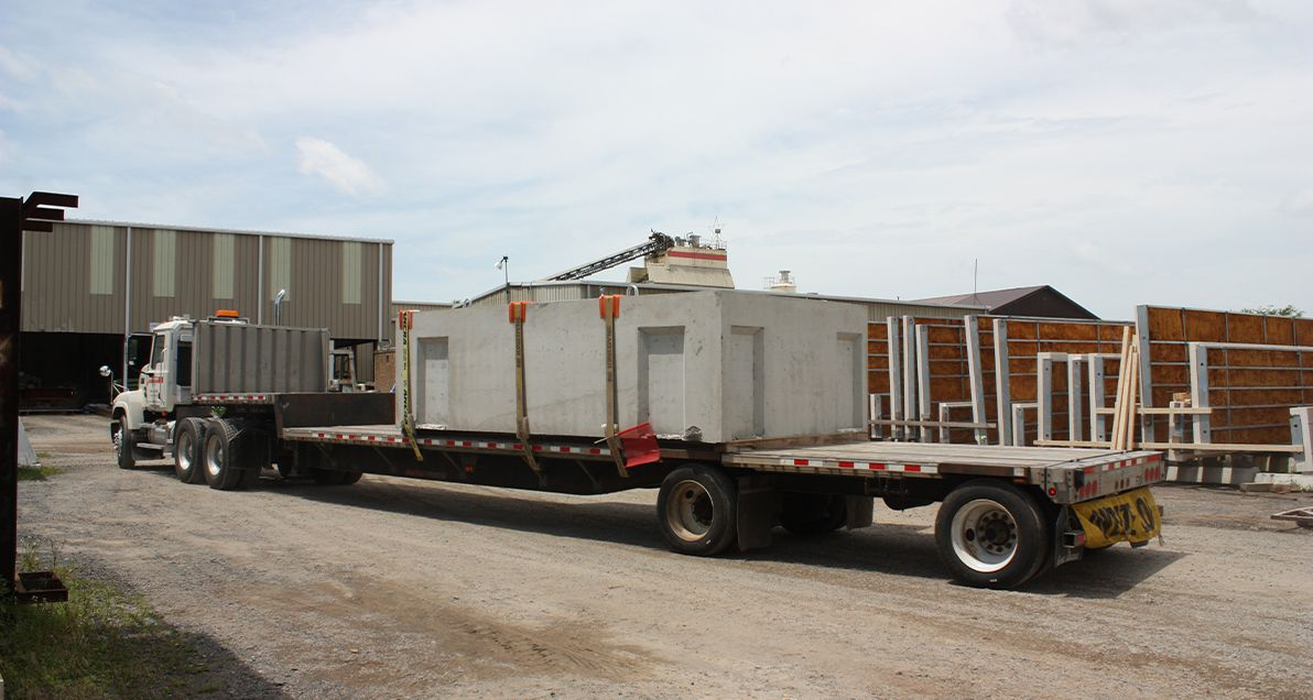 Delivery for Dulles Airport Metro Rail project