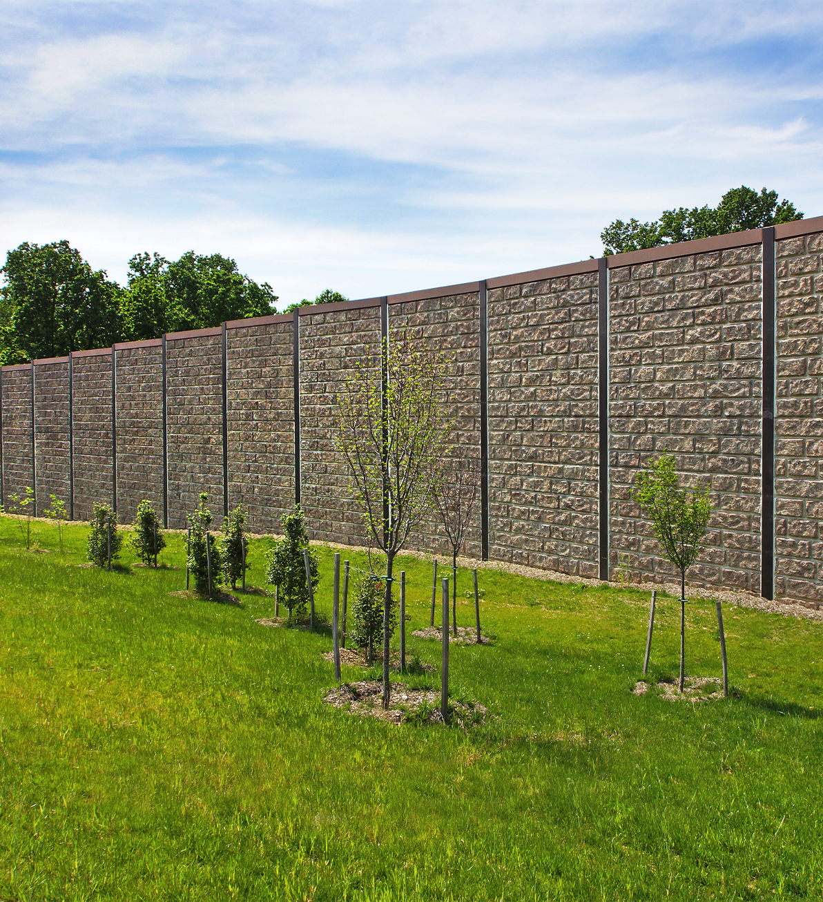 Absorbative SoundWalls for the Montgomery County, MD connector