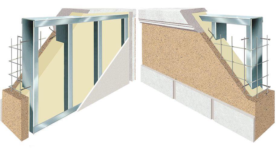SlenderWall cutaway diagram