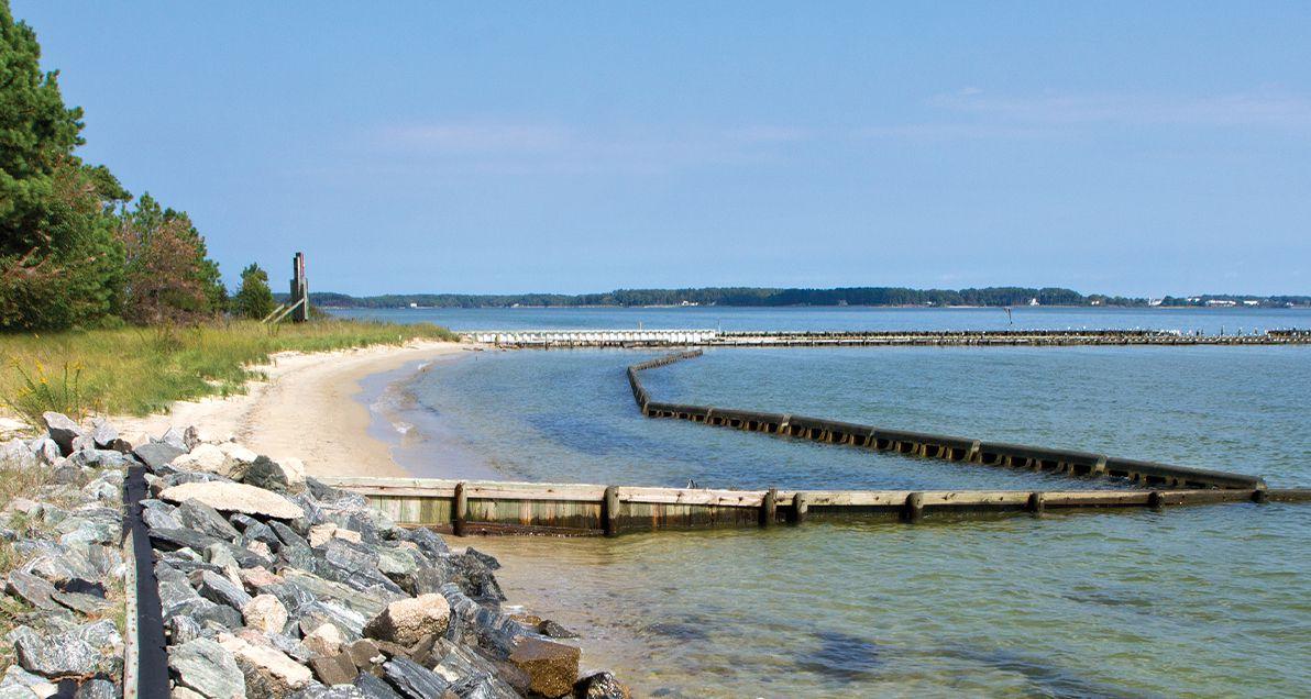 Beach Prisms at Ingram bay