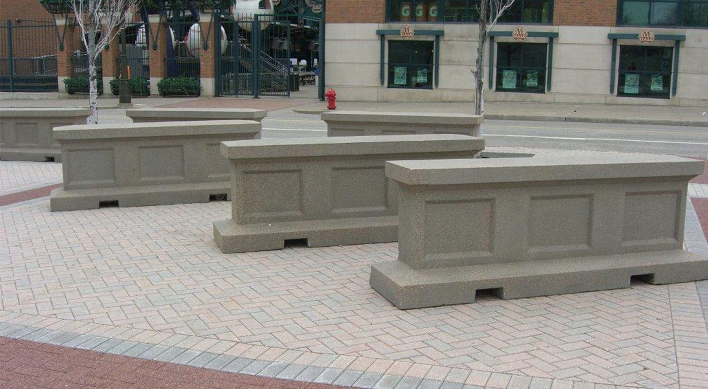 Decorative Barriers and Barricades