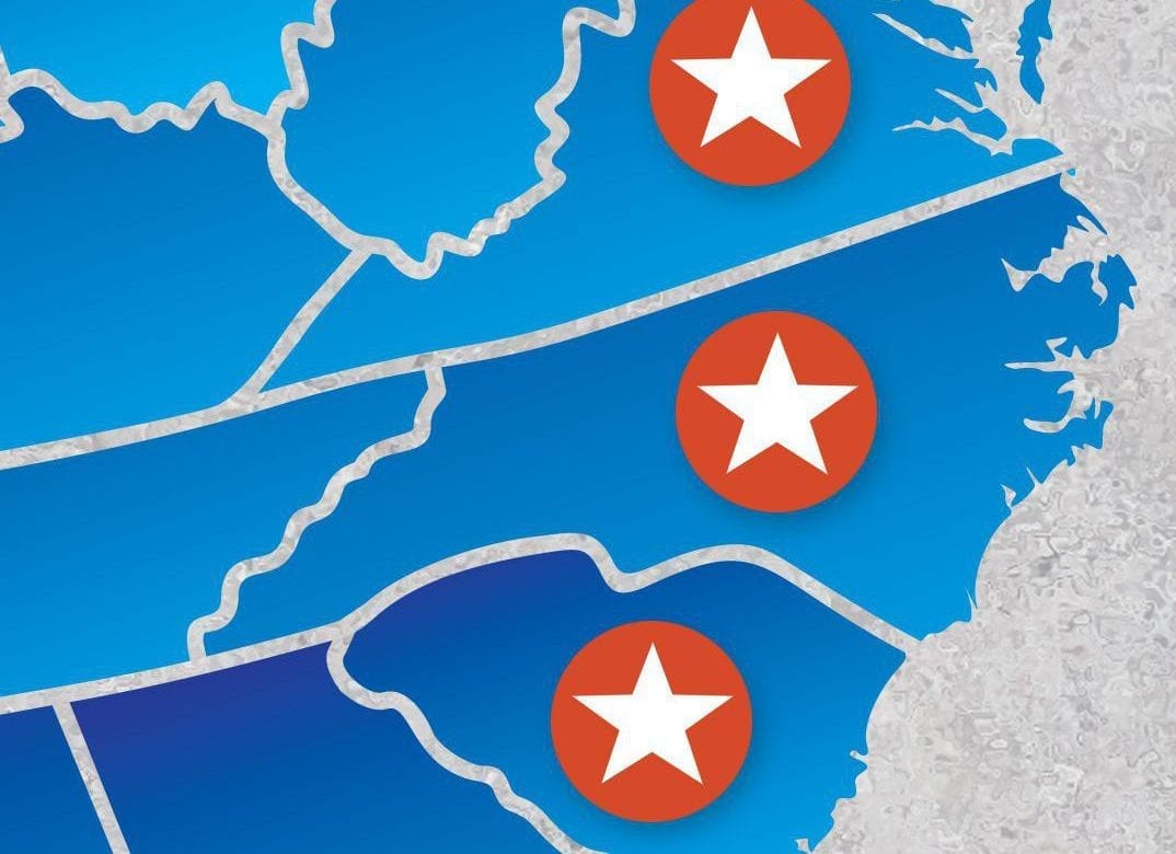 Smith Midland works in Virginia, North Carolina and South Carolina