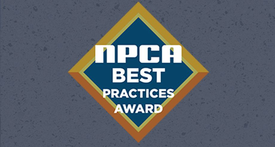NPCA Best Practices Award Logo