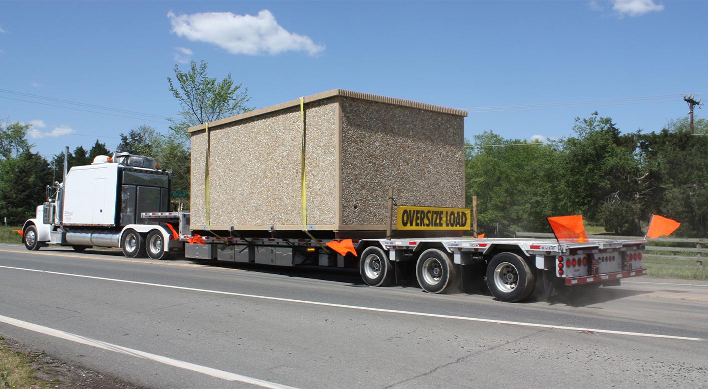 Easi-Set Building in Transport