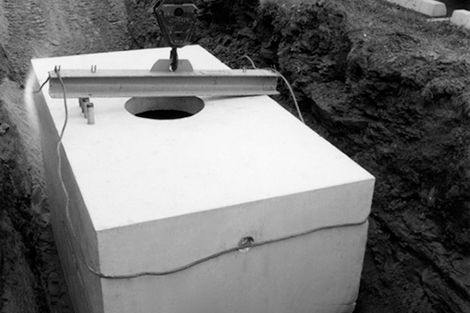 1965 - First underground precast concrete utility vault