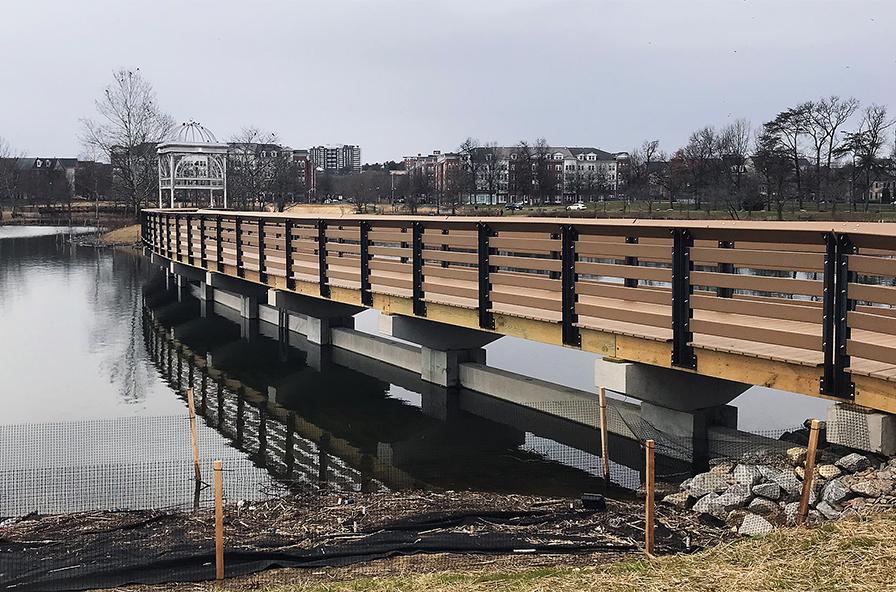 Ben Brenman Park Bridge