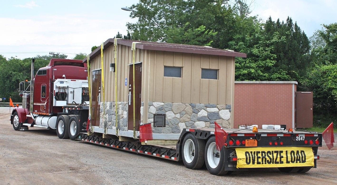 Easi-Set building being delivered