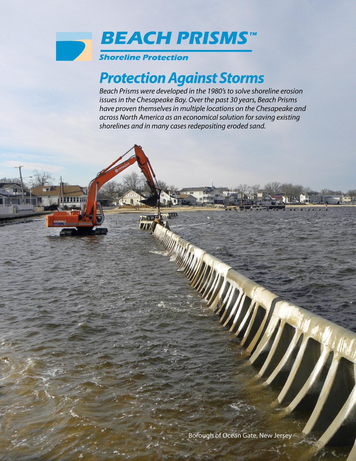 Beach prisms brochure cover