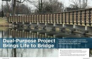 smith-midland custom precast bridge project