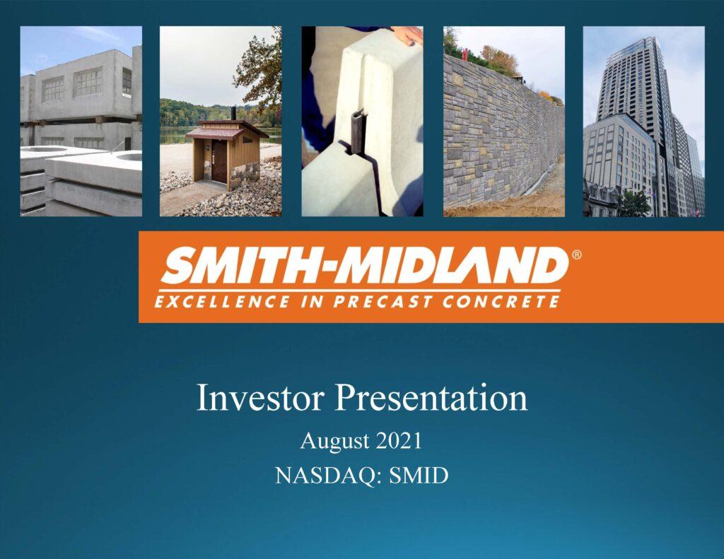 SMID Investor Presentation