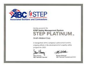 Smith Midland STEP Platinum for Safety